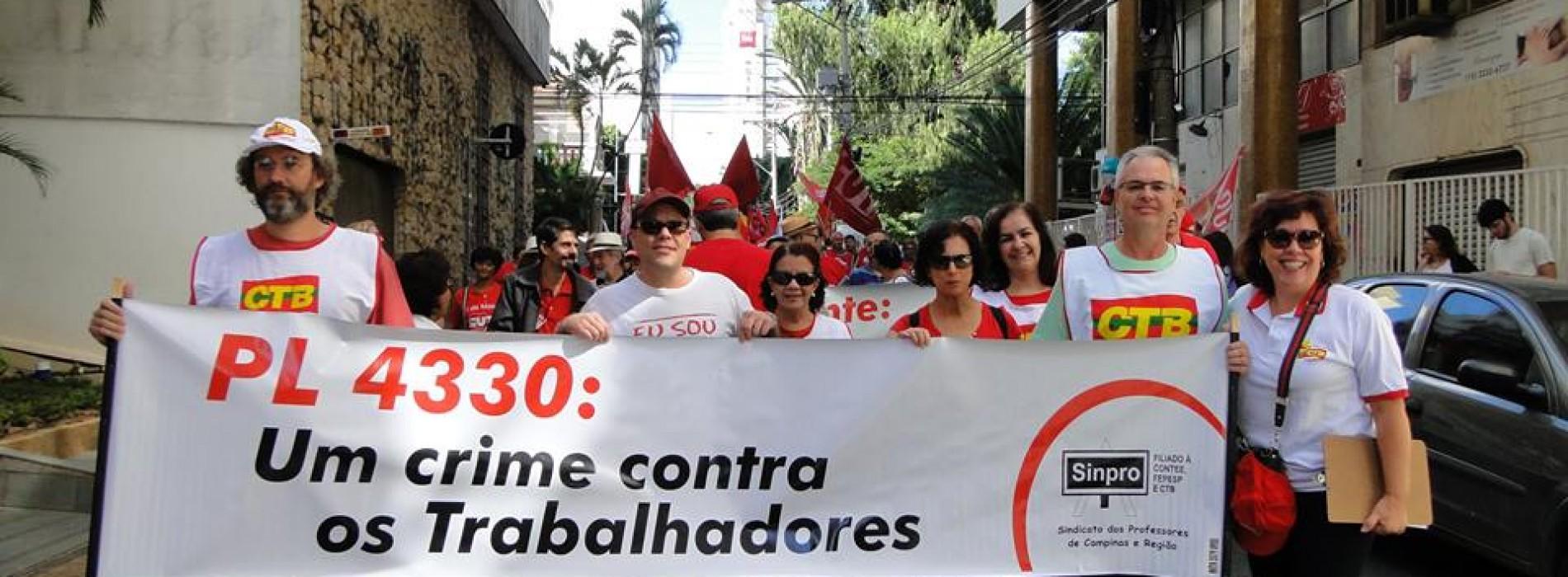 Apropucc vai às ruas no Dia Internacional de Luta do Trabalhador