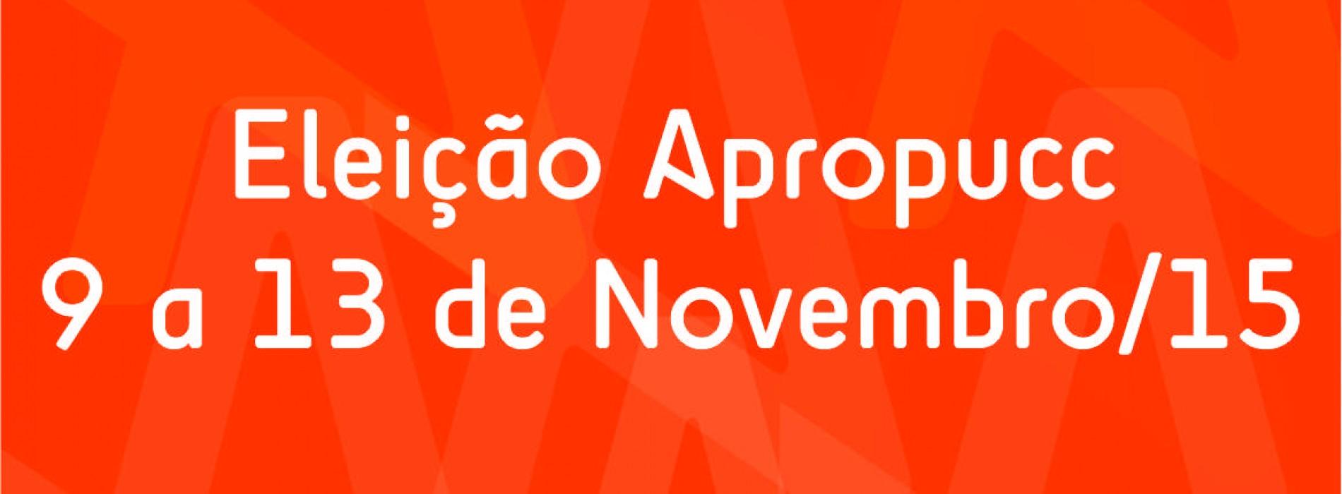 Eleição da nova diretoria da Apropucc começa na próxima segunda-feira (9)