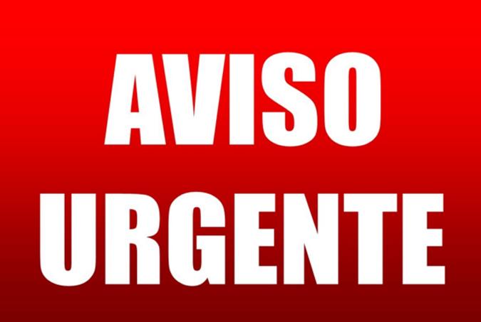aviso_urgente