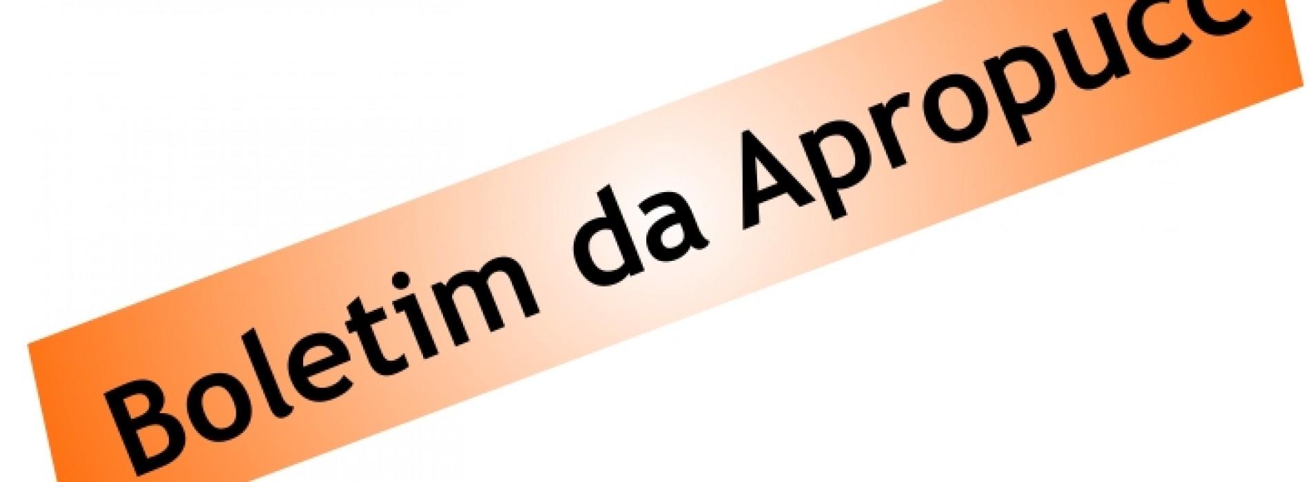 Boletim da Apropucc – 03/2015