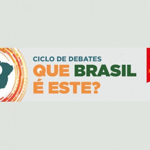 "Ciclo de Debates ""Que Brasil é Este?"" discute a crise econômica"