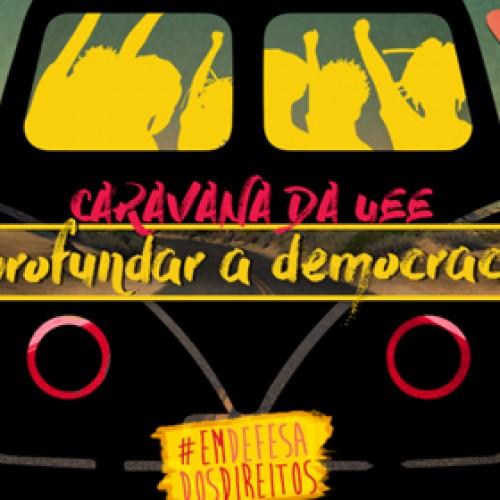 Caravana da Democracia chega à Unicamp