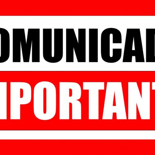 Comunicado: Compartilhamento de Disciplina e Ajuste de Carga Horária