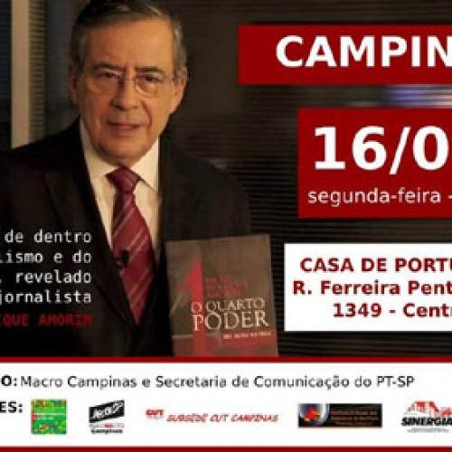 Paulo Henrique Amorim discute o lado de dento do jornalismo e do poder