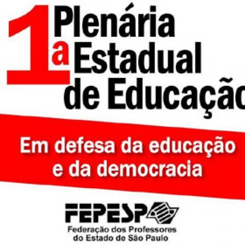1ª Plenária Estadual de Educação da Fepesp