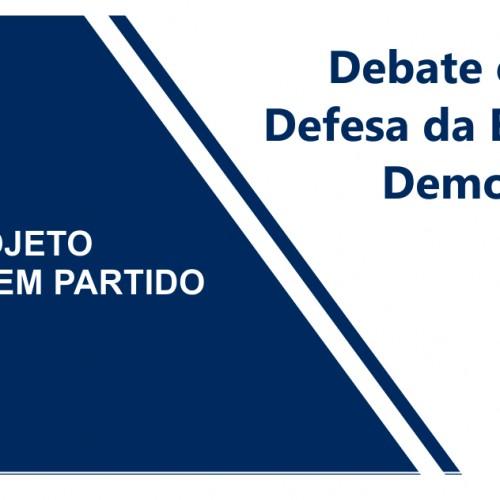 Debate e Ato em Defesa da Educação Democrática e Crítica