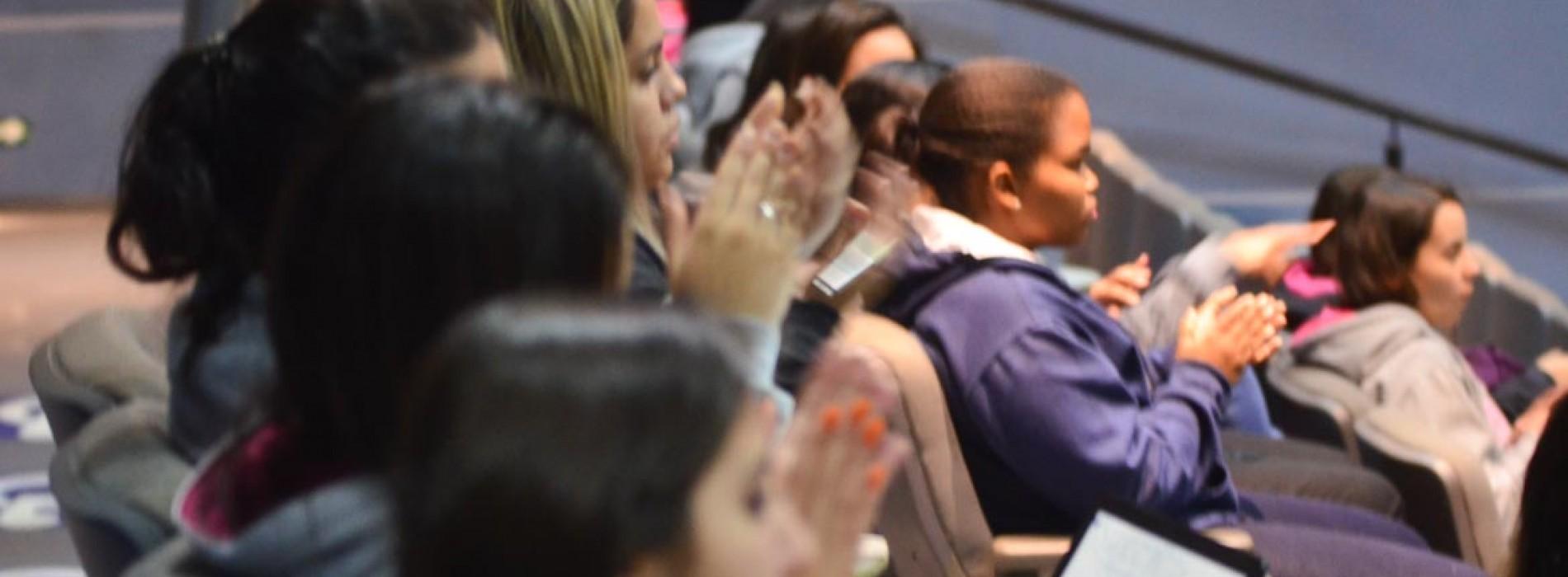Candidatos a vereador da REDE, PMDB, PCdoB e PPS participaram de sabatina
