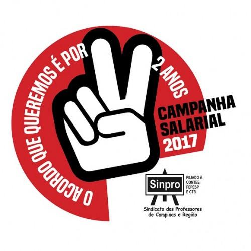Campanha Salarial 2017: O acordo que queremos é por dois anos
