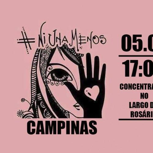 """Ato contra o feminicídio e em memória às vítimas da """"Chacina do Réveillon"""""""