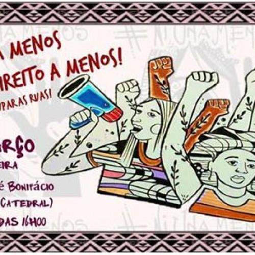 Ato marca Dia Internacional de Luta da Mulher