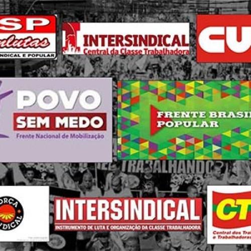 Ato contra a Reforma Trabalhista e da Previdência em Campinas