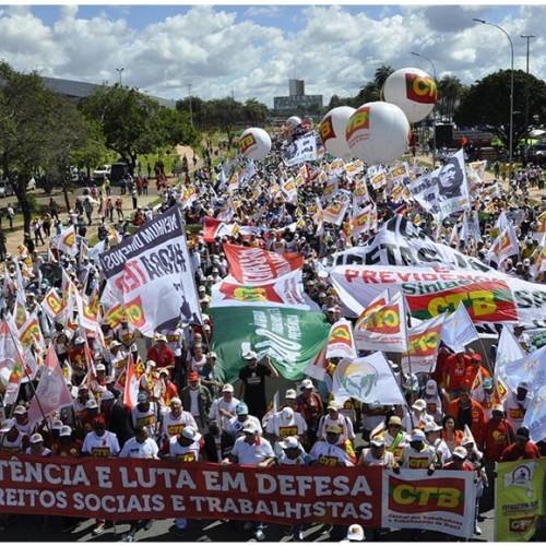 Brasília ocupada contra as reformas
