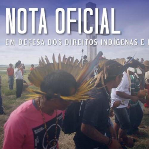 CNBB manifesta apoio ao Cimi e denuncia desrespeito a direitos conquistados