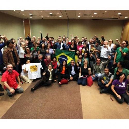 Movimentos, partidos e ONGs lançam frente ampla por diretas já