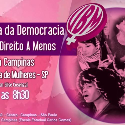 UBM Campinas realiza plenária em defesa da democracia por nenhum direito a menos
