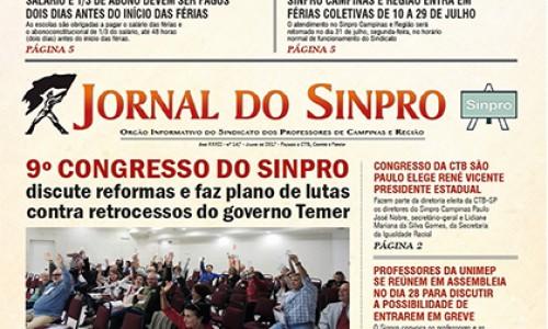 Jornal do Sinpro passa a ter apenas sua versão digital