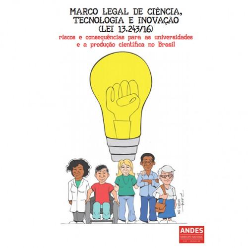 Andes publica cartilha sobre Marco Legal de C&T