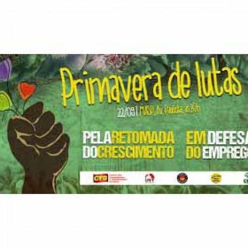 #PrimaveraDeLutas começa com ato na Paulista nesta sexta-feira (22)