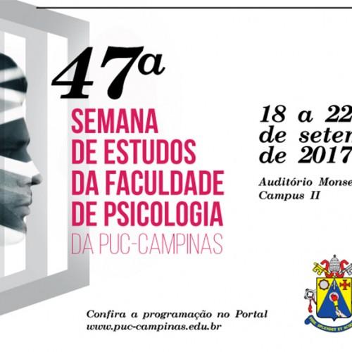 Apropucc apresentará palestra sobre Reforma da Previdência na 47ª Semana de Psicologia da PUC-Campinas