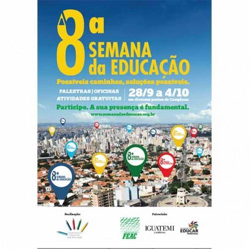 8ª Semana da Educação de Campinas