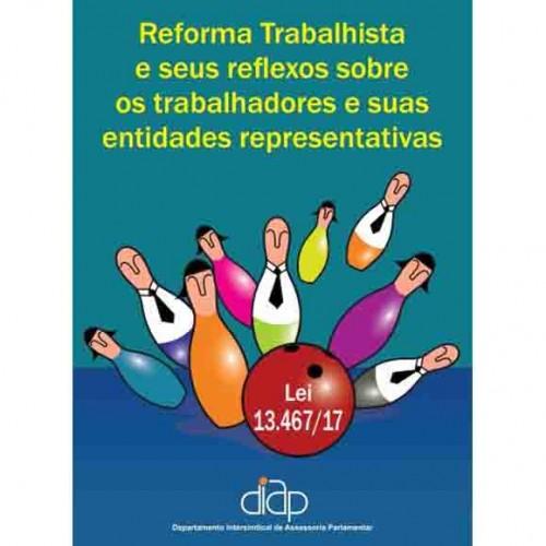 Diap lança cartilha sobre Reforma Trabalhista
