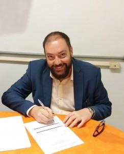 Professor Helerson da Silva, presidente da Comissão Eleitoral.