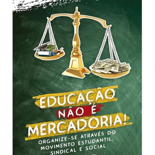 Contee e UNE realizam 'Jornada contra a mercantilização e em defesa da educação pública'