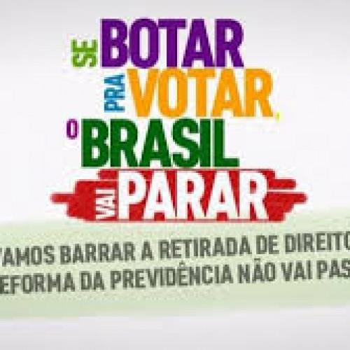 Centrais farão jornada de luta contra reforma no dia 19/02