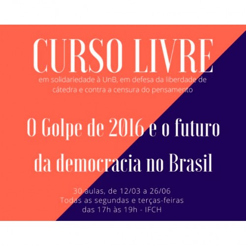Aulas da Unicamp sobre o golpe de 2016 estão disponíveis em vídeos
