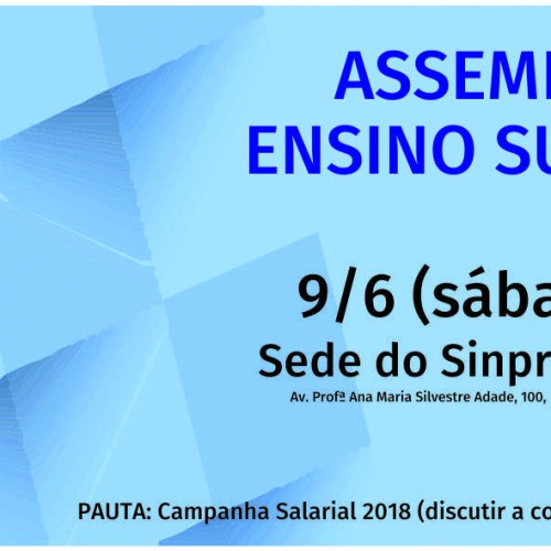 Campanha Salarial 2018: assembleia de sábado (9) discutirá contraproposta patronal