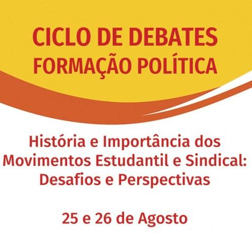 Ciclo de Debates sobre Formação Política