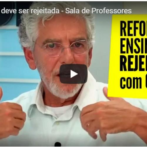 TV Fepesp: Reforma do Ensino Médio deve ser rejeitada