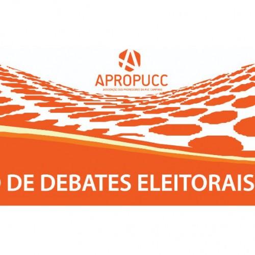 Confira os candidatos confirmados para o Debate Eleitoral