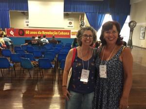 Professoras Eliane e Lili, diretoras da Apropucc