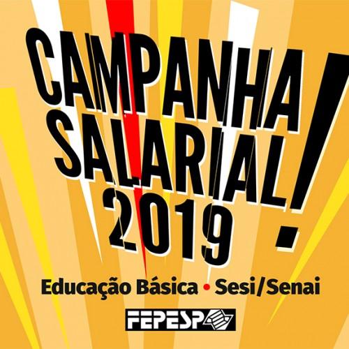 Campanha Salarial 2019: Educação Básica