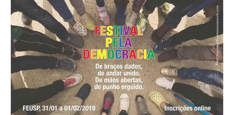 Festival pela Democracia unirá educação e cultura em SP