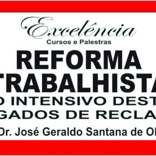Curso Intensivo para advogados sobre Reforma Trabalhista