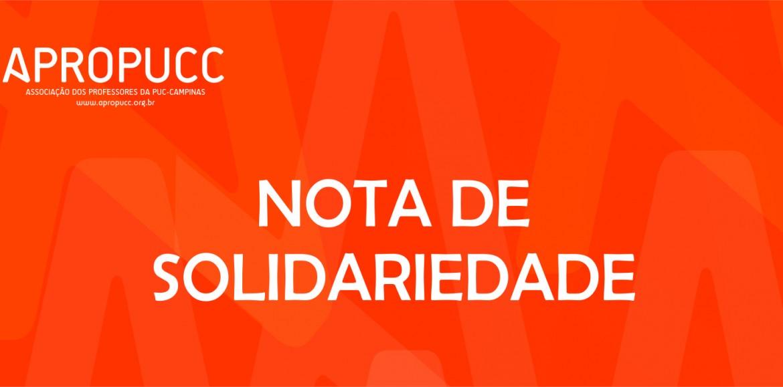 Nota Pública | Apoio e Solidariedade ao radialista Jerry de Oliveira e à diretora Cristiane Costa da Rádio Comunitária Noroeste