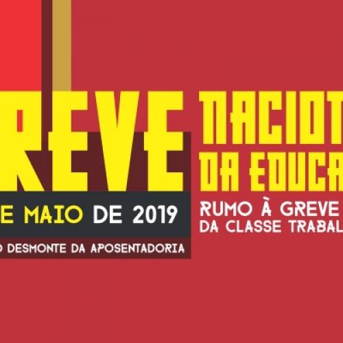Convocação para Greve Nacional da Educação