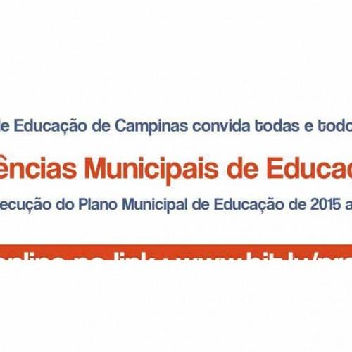 Inscrição para as Pré-Conferências de Educação de Campinas