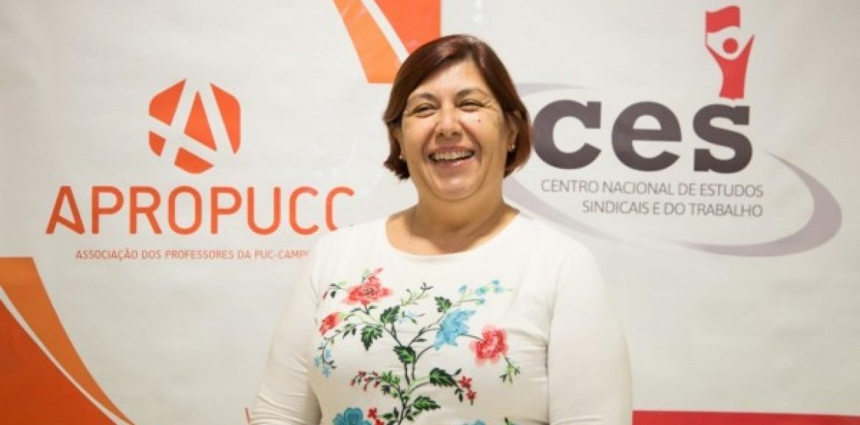 Professora Mônica é eleita representante docente no Consun