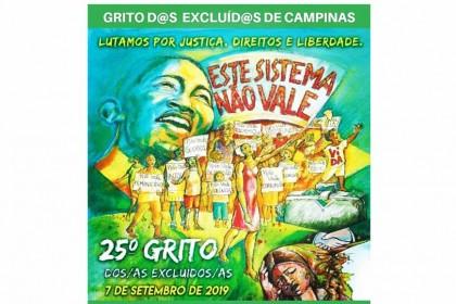 Grito d@s Excluíd@s de Campinas 2019