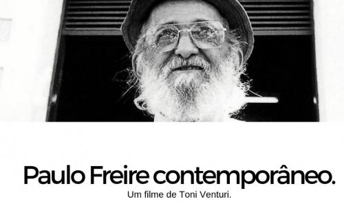 "Cine debate apresenta ""Paulo Freire Contemporâneo"""