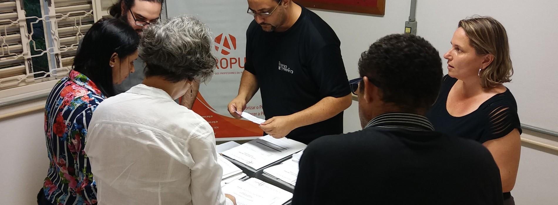 """""""Resistência Democrática"""" foi eleita com 94,6% de aprovação para dirigir a Apropucc no biênio 2020/2021"""