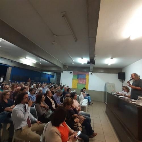 Sinpro faz assembleia com docentes da PUCC sobre hora-dedicação e hora-pesquisa