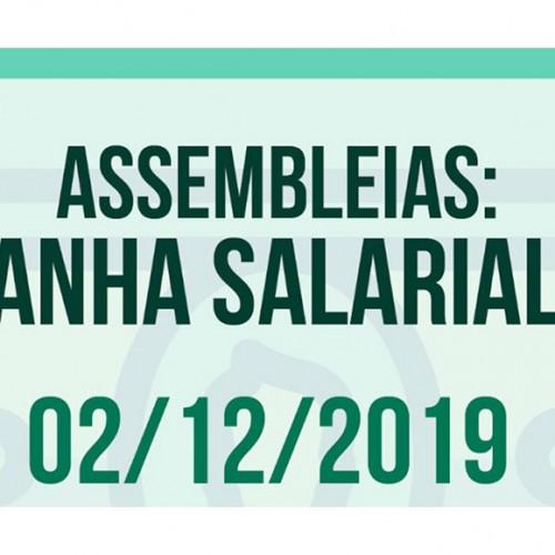 Assembleias para discutir Campanha Salarial 2020