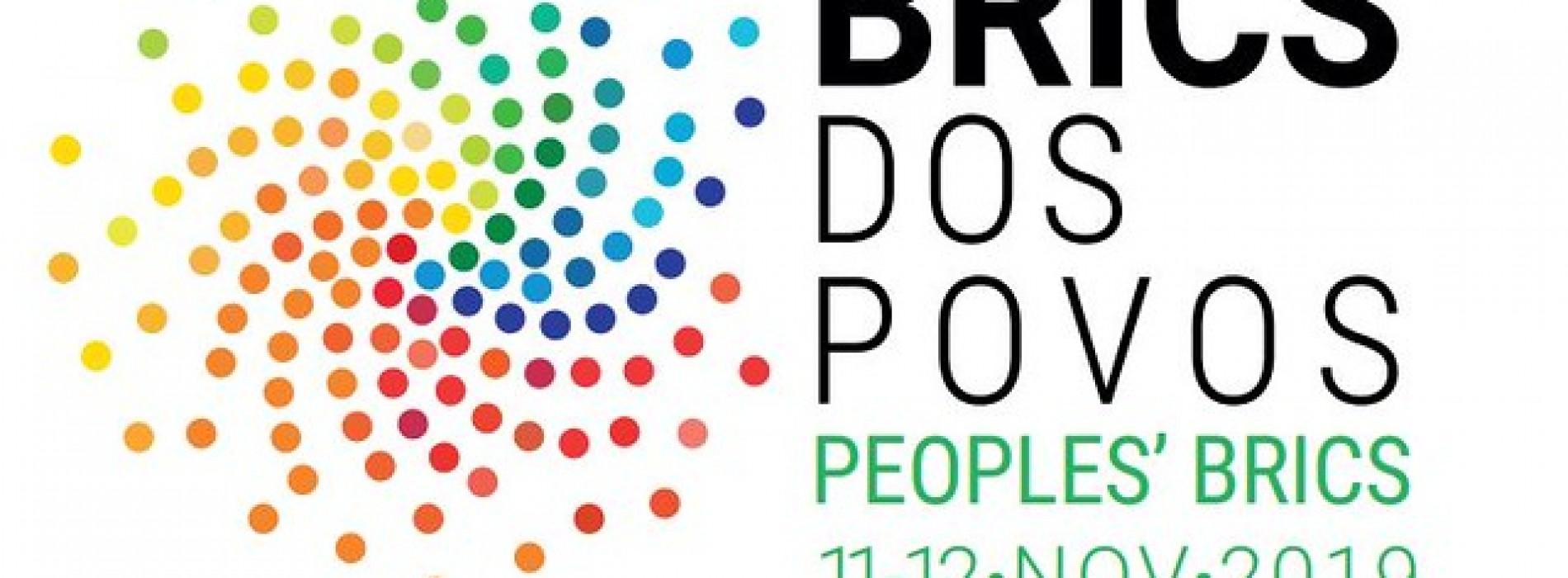 """Em paralelo à Cúpula dos Brics, Brasil receberá o """"Brics dos Povos"""" em novembro"""