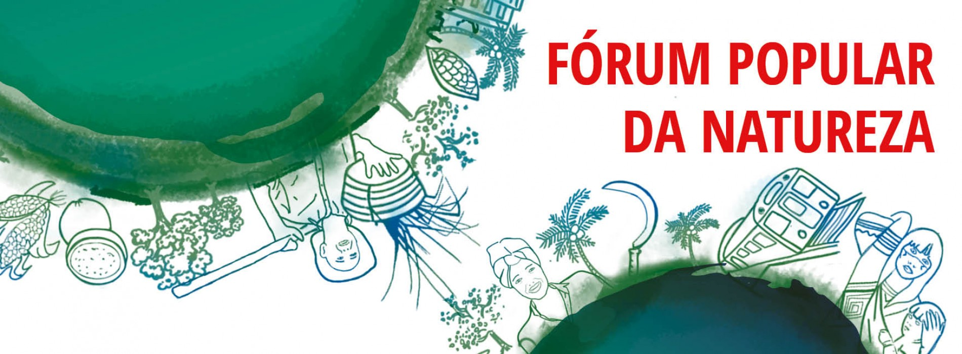 Fórum Popular da Natureza: programação do dia 10/06