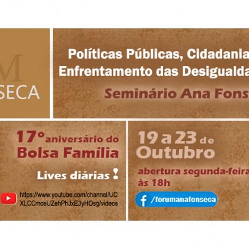Fórum Ana Fonseca pela Redução da Desigualdade Social