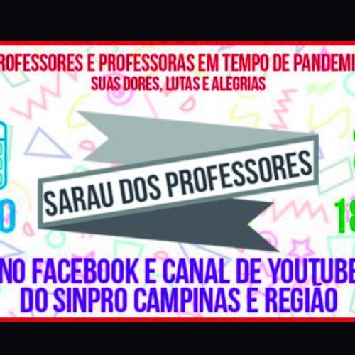 Sinpro Campinas organiza Sarau Especial em Homenagem aos Professores e Professoras